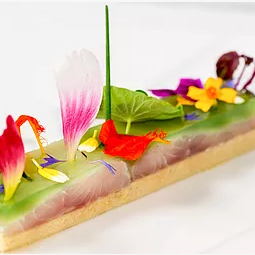 creation culinaire florale