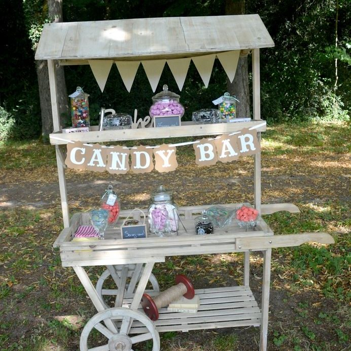 candy bar charrette en location chez ec events